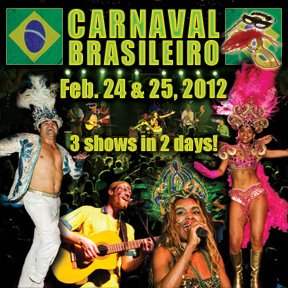 February is Brazilian Carnaval Month in Minneapolis/St. Paul! (and Brazil)