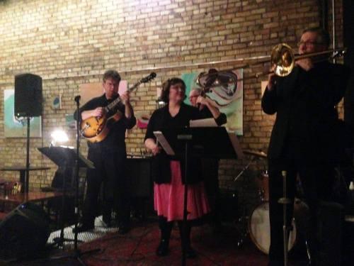 With Maryann Sullivan and Corner Jazz
