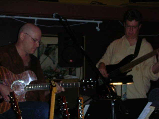 Jon Hughes, Ward Grifiths, and Mike Doolin at O'Connor's Portland, OR