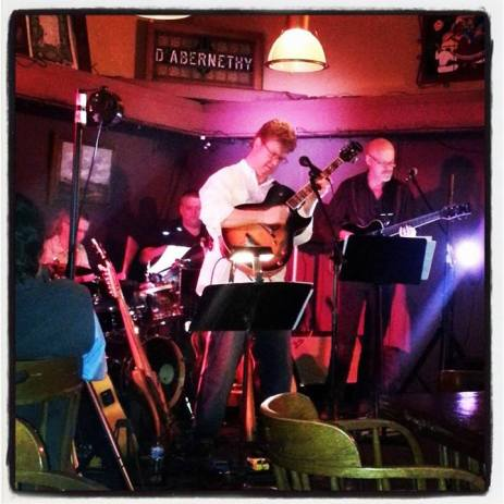 With Jon Hughes, Ward Griffiths, Mike Doolin at O'Connor's Portland, OR
