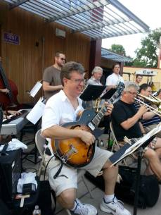 With Explosion Big Band at MN State Fair