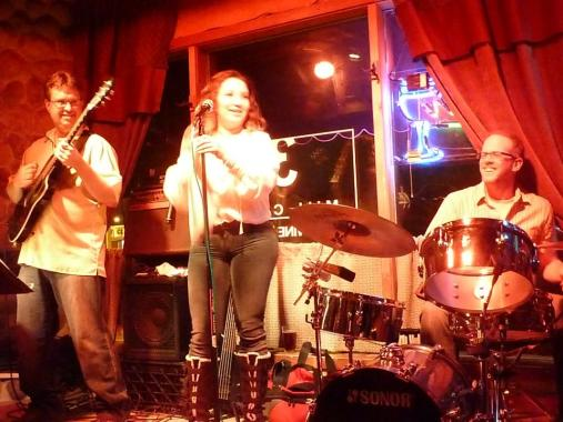 With Esti Price, Joel Arpin and Havana Hi-Fi at 318 Cafe, Excelsior, MN