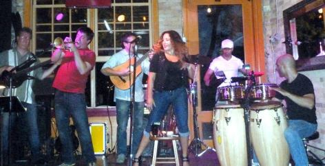 With Zack Lozier, Tom Peterson, Esti Price, Frank Garcia, Shai Hayo and Havana Hi-Fi at Aster Cafe, Minneapolis, MN