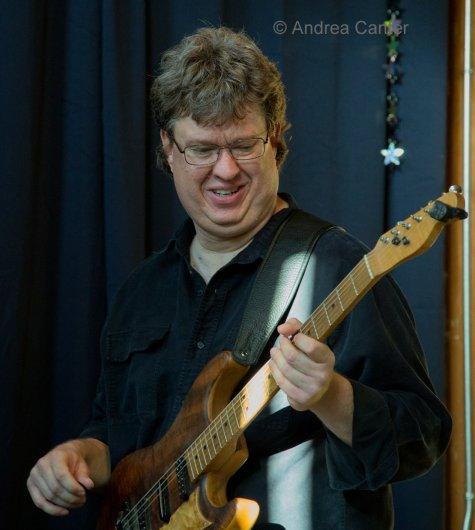 David Martin-guitar, Chris Bates-bass, Pete Hennig-drums