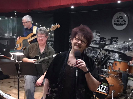 with vicky mountain at jazz central